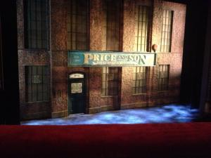 Opening stage for Kinky Boots on Broadway: April 2014.