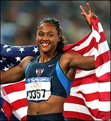 Marion Jones forfeited her five medals from the 2000 Sydney Olympic Games.