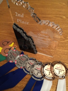 The hardware: 4th, 5th from Park City, two silvers and two bronze's from Calgary and two silvers from Whistler, as well as 2nd place overall from NAC.