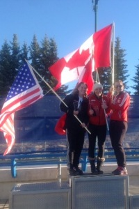 NAC overall podium, with Mimi Rahneva and Grace Dafoe